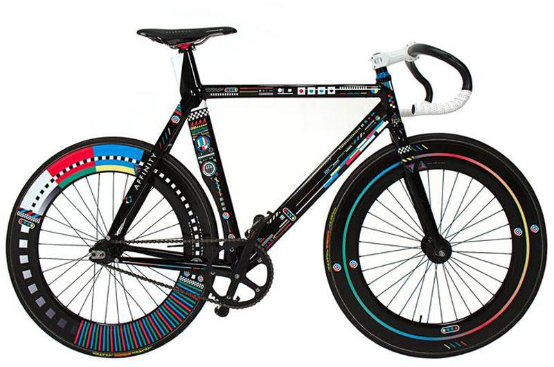 Affinity Cycles and Kenzo Minami - Digitizer Track Bike