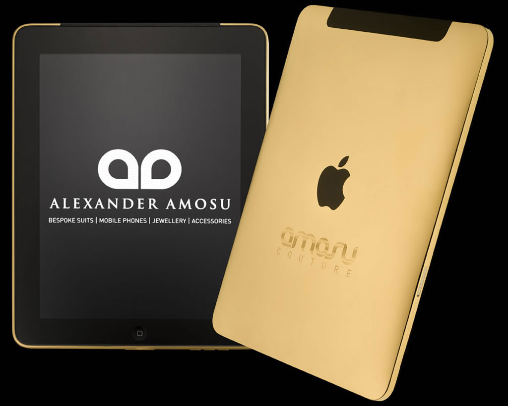 Amosu Couture Adds Dazzling Glamour to the Apple iPad