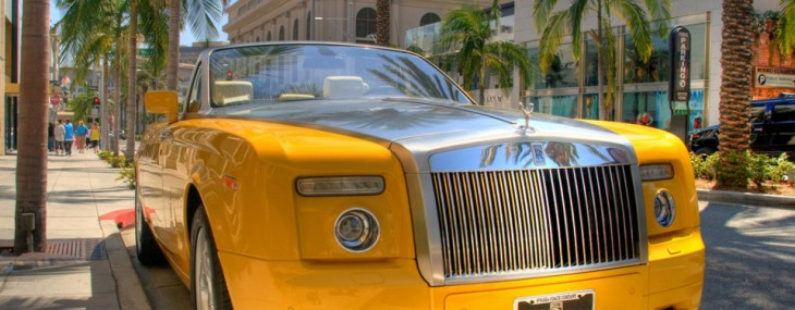 Limited Edition Bijan's Rolls-Royce Drophead Coupe
