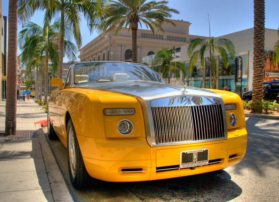 Limited Edition Bijan&#8217;s Rolls-Royce Drophead Coupe