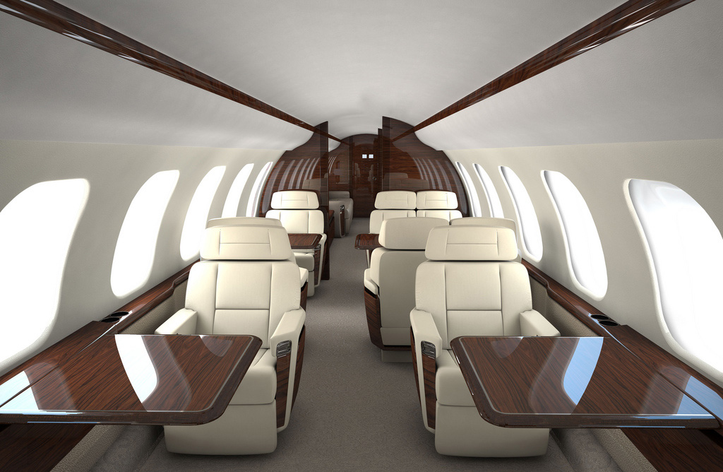 New Bombardier Flagship Global Jets - Interior