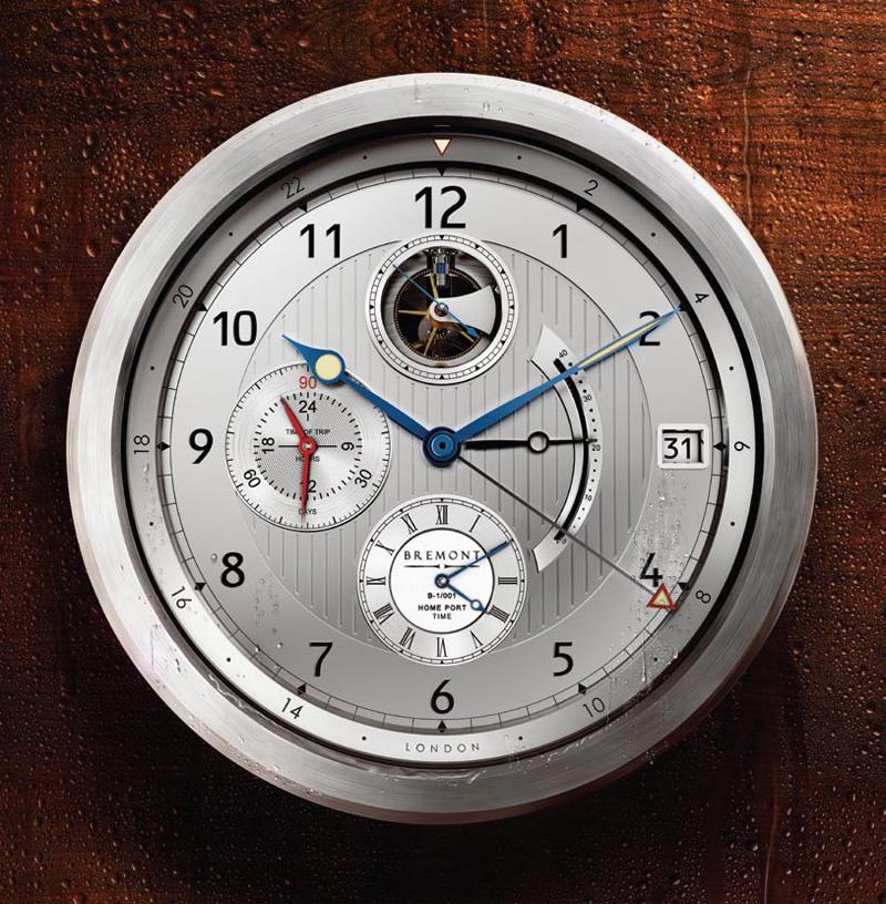 Bremont B-1 Marine Clock
