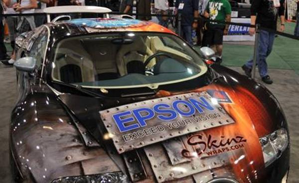 Bugatti Veyron in SkinzWraps by Epson