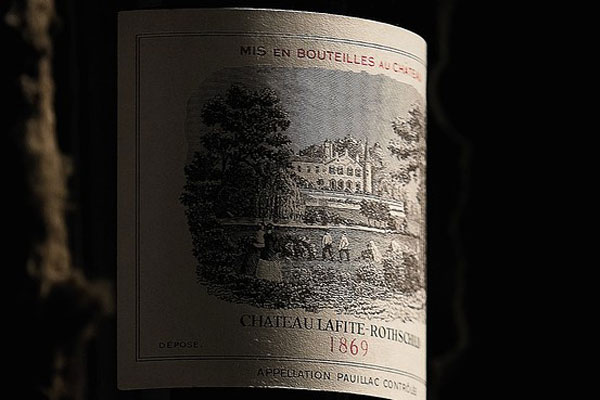 Chateau Lafite-Rothschild 1869 - World's Most Expensive Wine