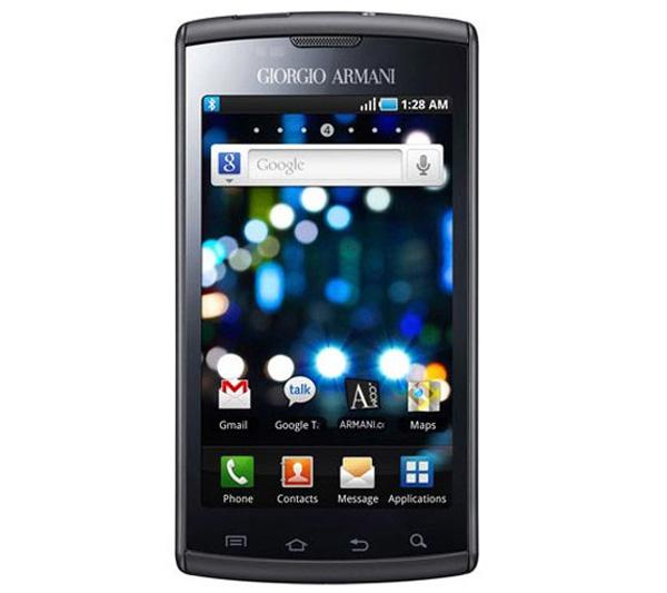 Giorgio Armani Samsung Galaxy S Smartphone