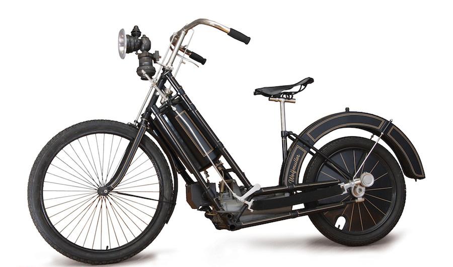 1895 Hildebrand & Wolfmuller Motorcycle