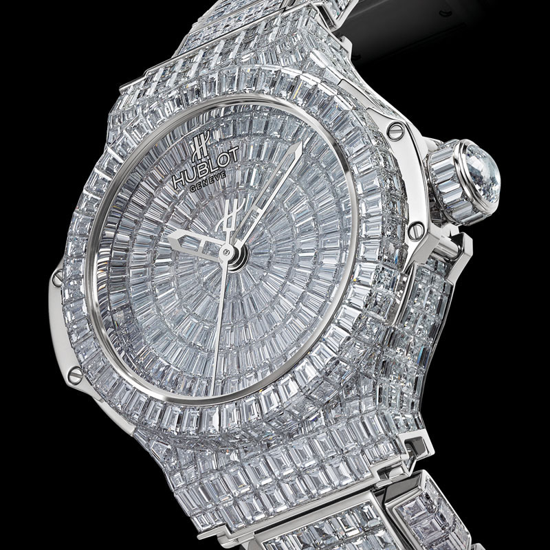 The Best High Jewelry Watch of 2010 – Hublot Big Bang One Million $ Lady Watch