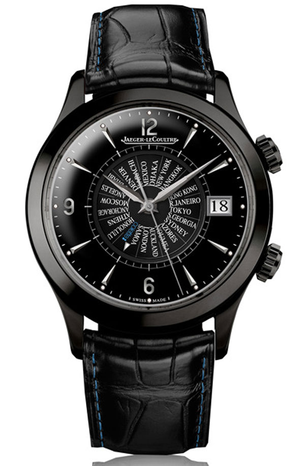 Limited Edition Jaeger-LeCoultre Master Memovox International Series for Colette Paris
