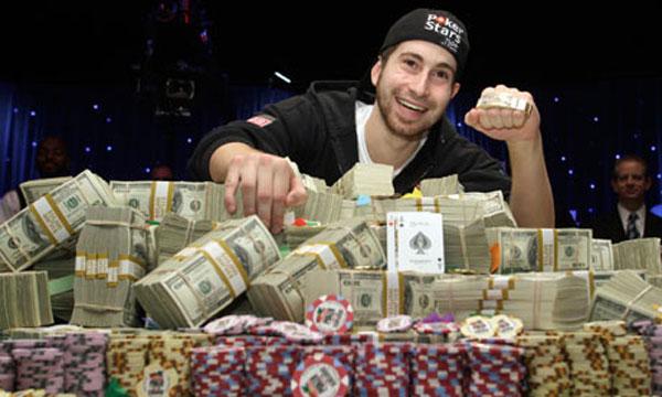 Jonathan Duhamel Wins $8.9 Million Prize in World Series of Poker