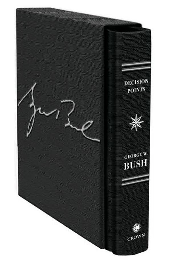 "Limited Edition George W Bush's Memoirs ""Decision Points"""