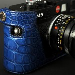 Limited Edition The Leica M9 Nile Crocodile Leather Half Case