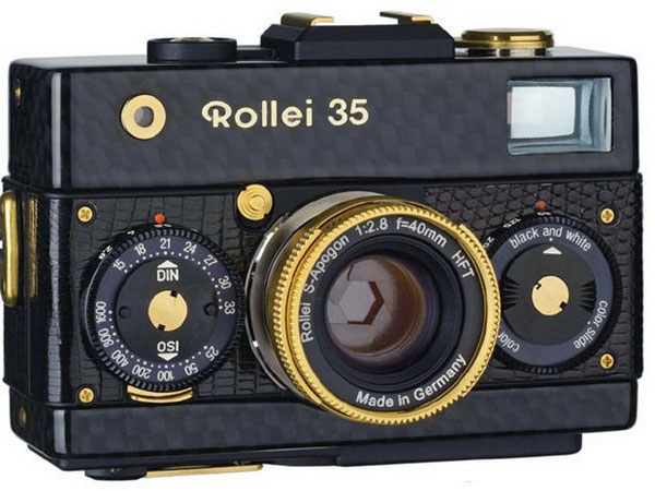 Limited Edition Vintage Rollei 35 Compact Camera