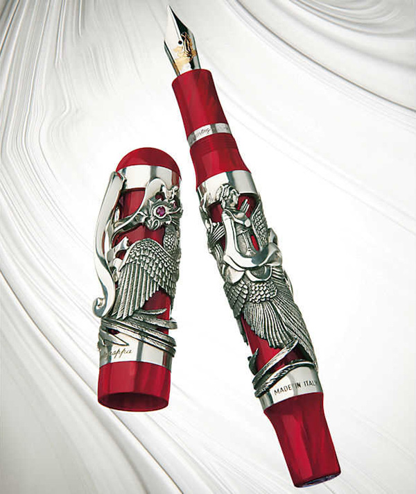 Montegrappa-Eternal-Bird-Silver-Fountain