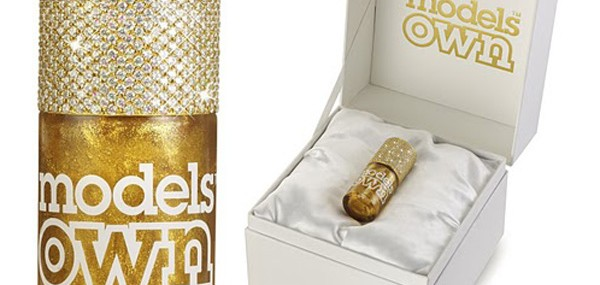 Models Own Gold Rush – The Most Expensive Nail Polish