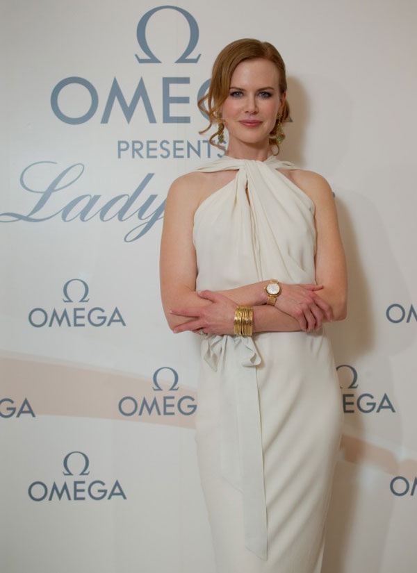 Nicole Kidman witf Omega Ladymatic Timepiece at the Launch Party in Beijing