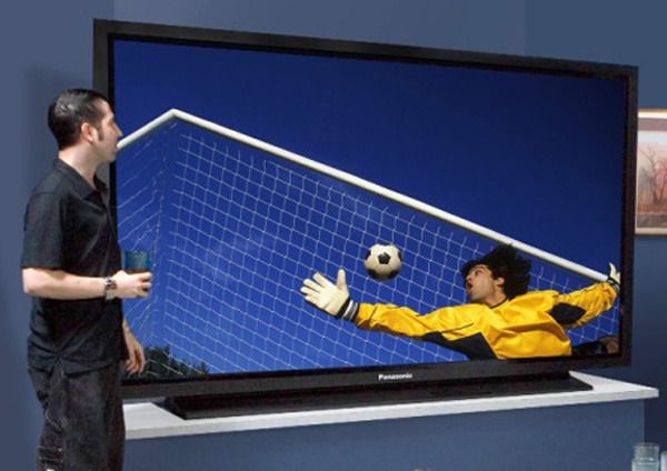 Panasonic's 103-inch 3D TV