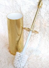 Gold Plated Rock Star Toilet Brush Holder – The World's Most Expensive Toilet Brush Holder