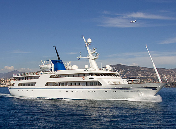 Saddam Hussein's Ocean Breeze Yacht Go Up for Sale