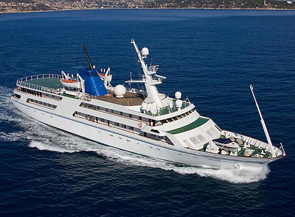 Saddam Hussein's Ocean Breeze Yacht