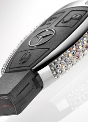 Limited Edition Hand Crafted Swarovski Mercedes Keys
