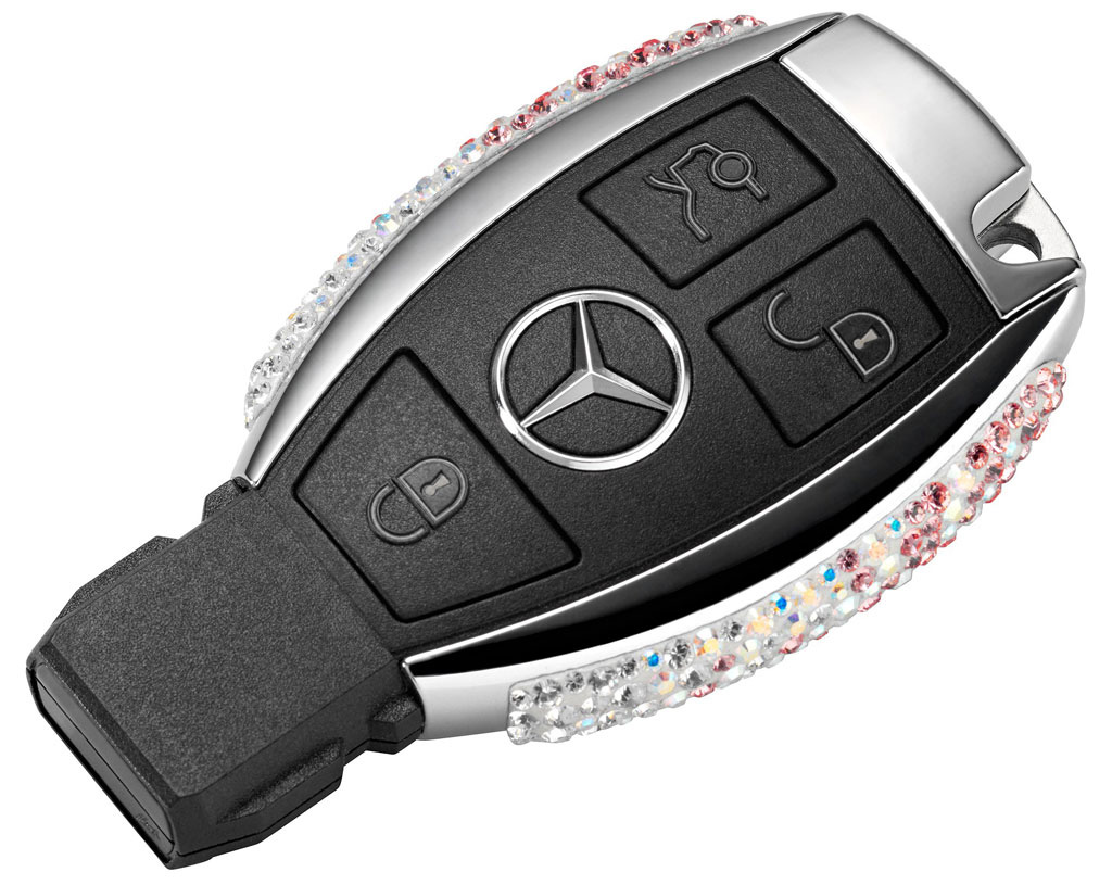 mercedes key battery died