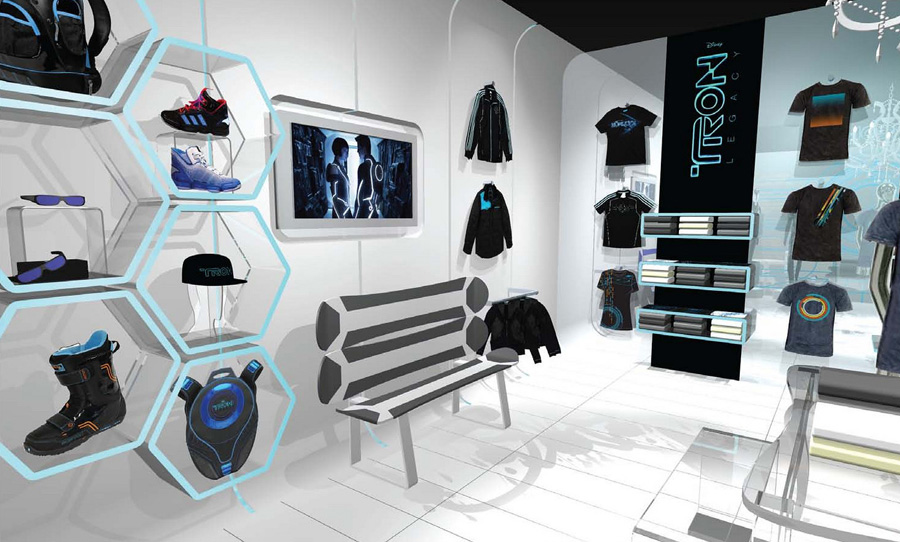 TRON: Legacy Pop-Up Shop