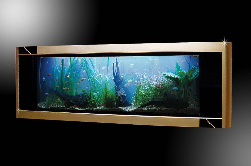The Aquavista Dinosaur Gold Edition - World's Most Expensive Aquarium