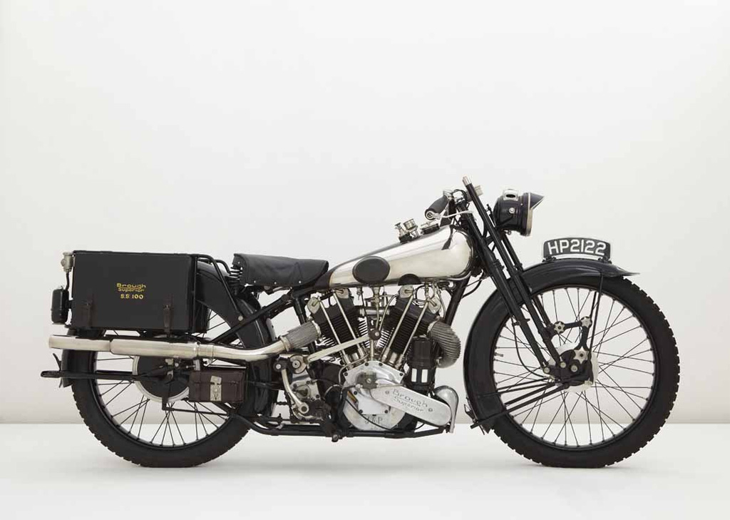 """The Prototype Brough Superior SS100 """"Alpine Grand Sport"""" built in 1925"""