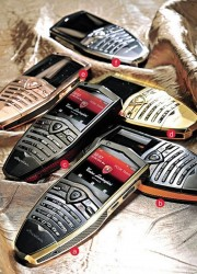 Hand Crafted Tonino Lamborghini Spyder Series Luxury Mobile Phones