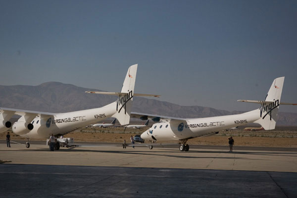Virgin Galactic Charter to Space