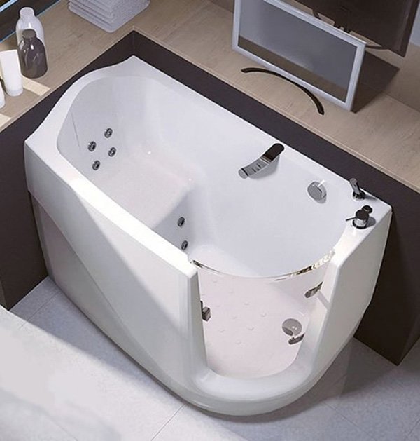 Walk-In Compact Bath Tubs by Treesse