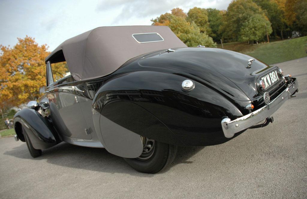 Winston Churchill's Daimler DB18 Drophead Coupe