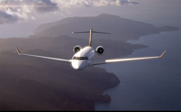 New Bombardier Business Jet
