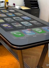 Table Connect – 58-inch iPhone Desk-sized Replica