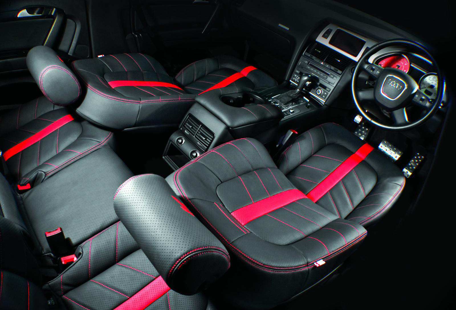 Interior of Audi Q7 by Project Kahn