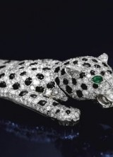 Most Expensive Cartier Item – $7 Million Onyx and Diamond Panther Bracelet