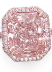 Fancy Vivid Purple-Pink Diamond of 6.89 Carats Sells for $6.9 Million