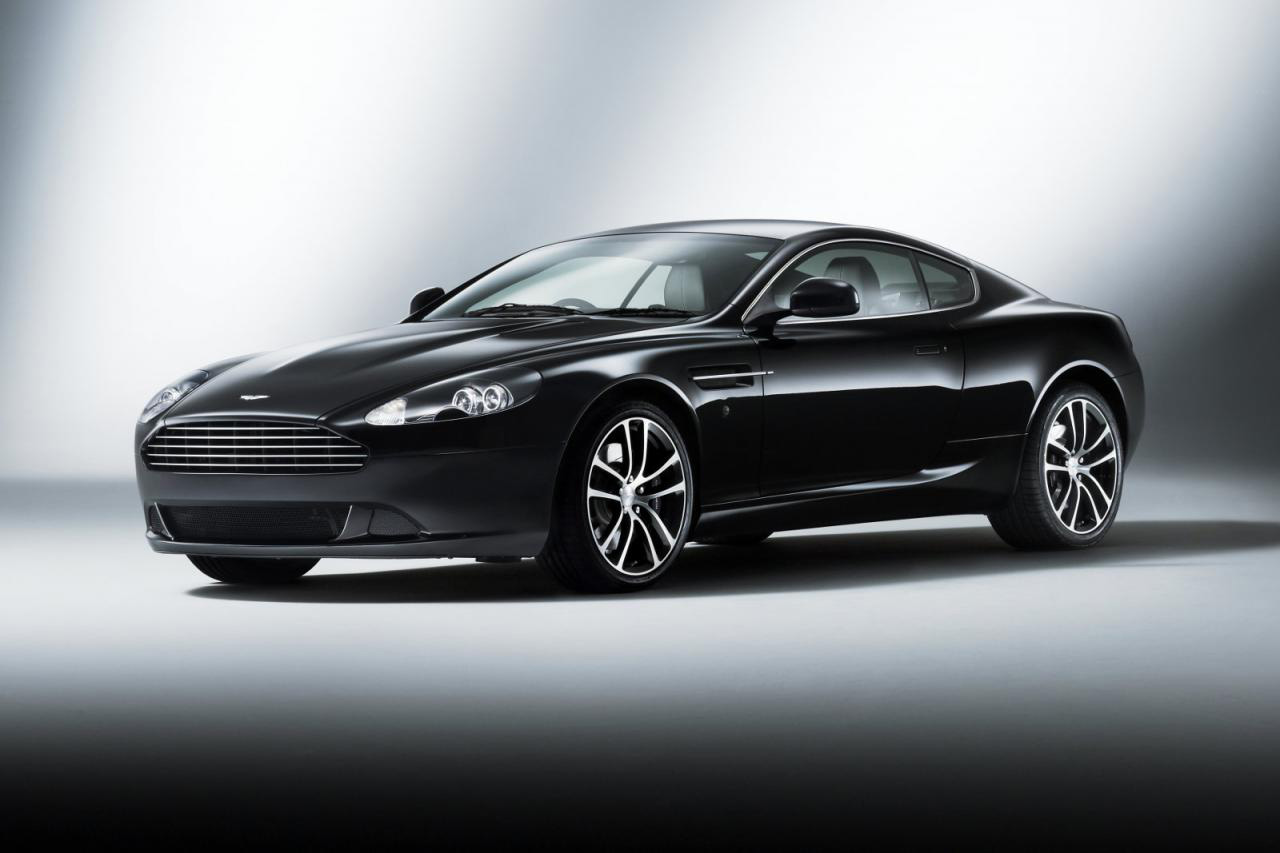 Aston Martin Launches DB9 Morning Frost, Carbon Black And