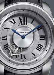 Limited Edition Hand-wound Cartier Calibre de Cartier Astrotourbillon Watch