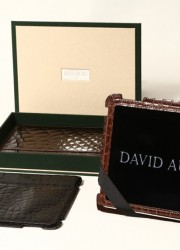David August Unveils Exotic Leather Collection Including World's Most Expensive iPad Case