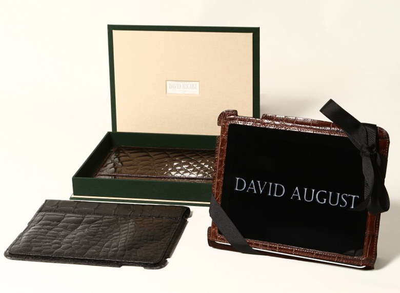 David August Unveils Exotic Leather Collection Including Worlds Most Expensive iPad Case