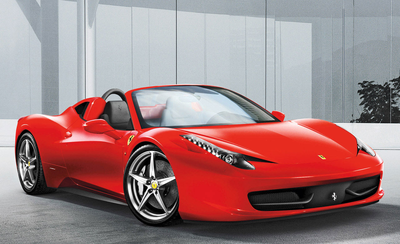 ferrari 458 italia red black