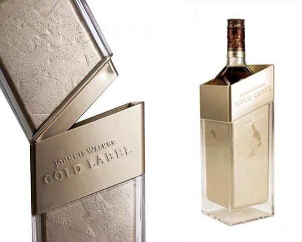 Johnnie Walker Gold Label Ice Pillar