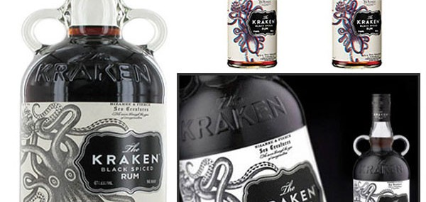 Kraken Spiced Rum – The First 3D Liquor Bottle