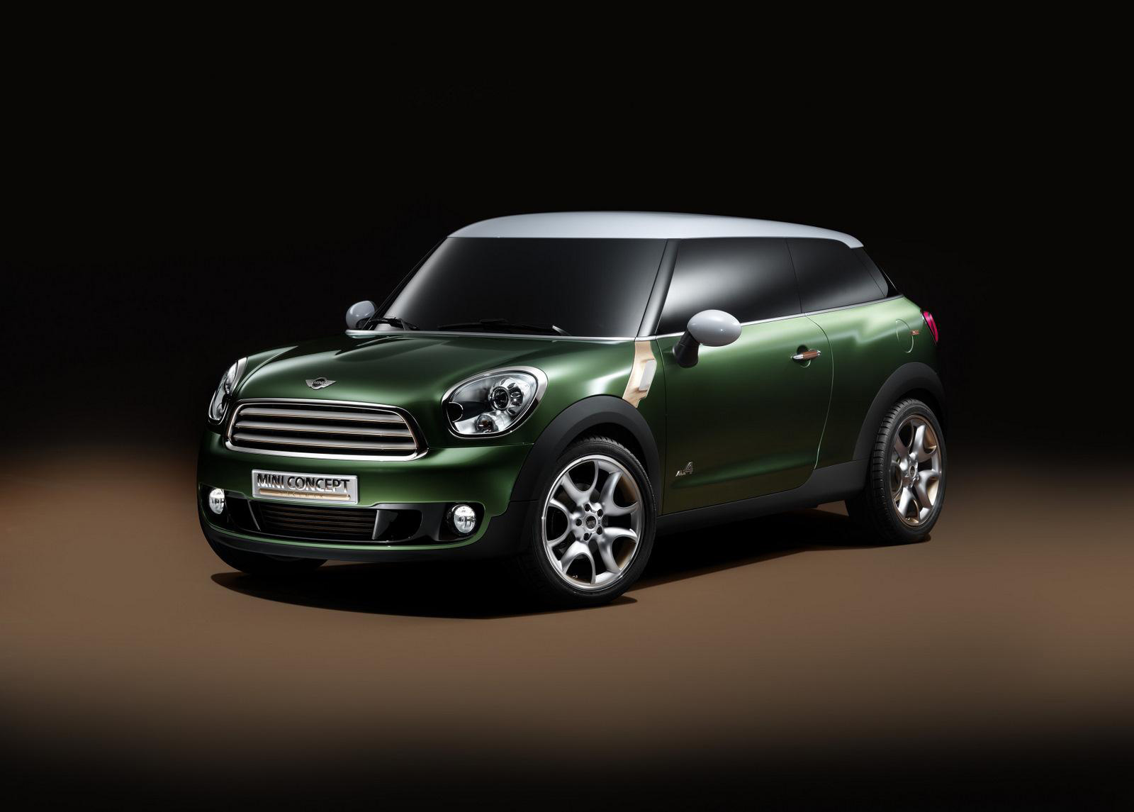Mini Paceman Concept &#8211; The Most Expensive Mini Ever