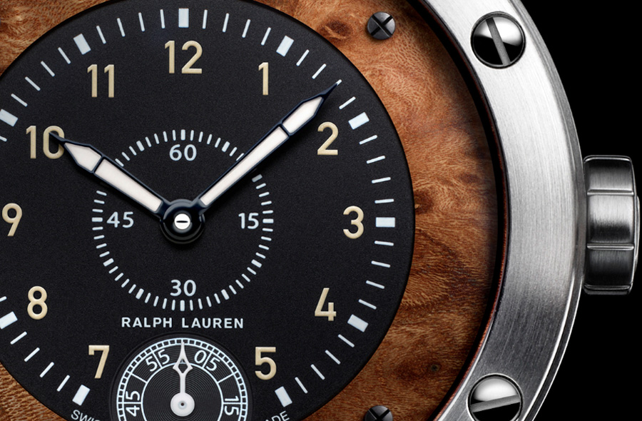 New Ralph Lauren's Sporting Watch Takes Inspiration from Vintage Car