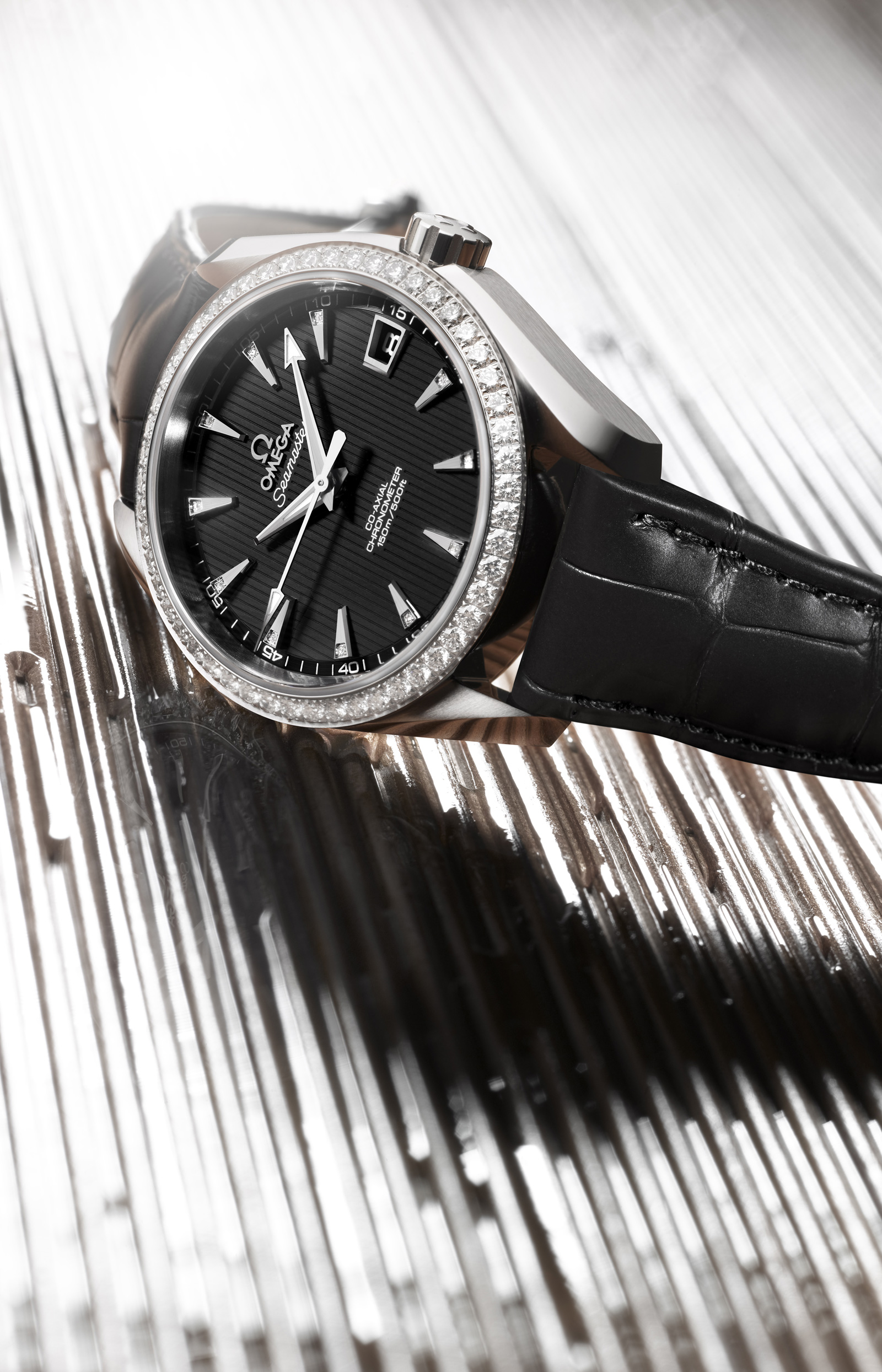 Omega Seamaster Aqua Terra Jewellery Co-Axial Stainless Steel Edition