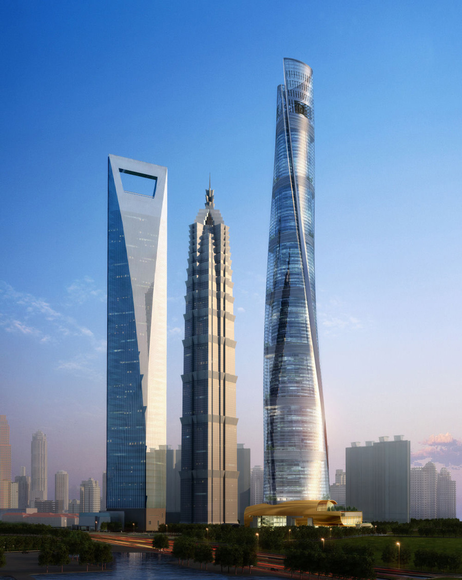 Shanghai Tower J-Hotel &#8211; The World&#8217;s Highest Luxury Hotel Due to Open in 2014