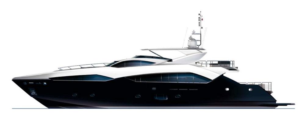 Sunseeker International - Predator 115 Yacht