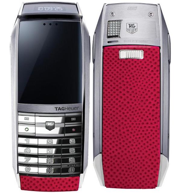 Tag Heuer Fuchsia MERIDIIST GMT Luxury Phone